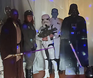 Star Wars Strangulation Murder Mystery Party
